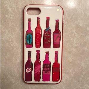 Kate Spade iPhone 7 case - hot sauce